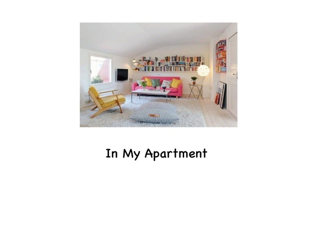 In My Apartment  by Rebecca Jarvis