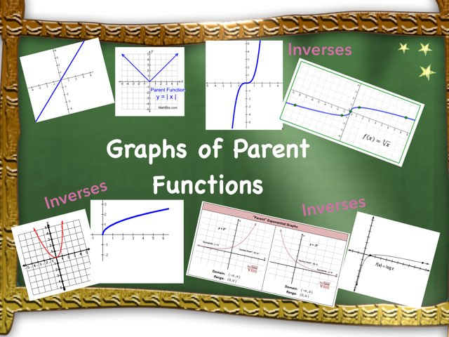 Parent Functions  by Angela Siegel