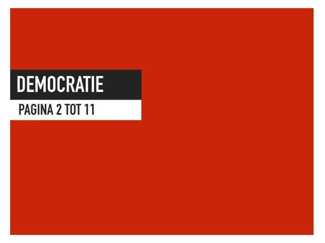 Democratie by An Vanhoutte