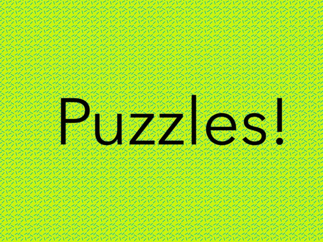Puzzles by Flora Silver