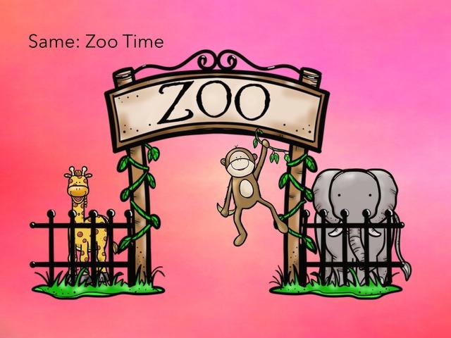 Same: Zoo Time by Carol Smith