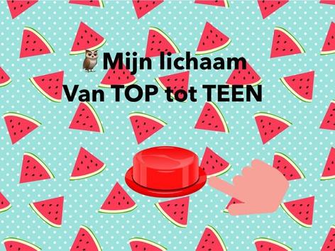 🦉Mijn Lichaam TOP tot TEEN  by Elke Scholliers