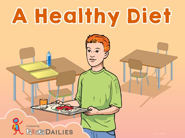 A Healthy Diet by Kids Dailies