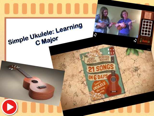 Simple Ukulele: Learning C Major by Nina Brown