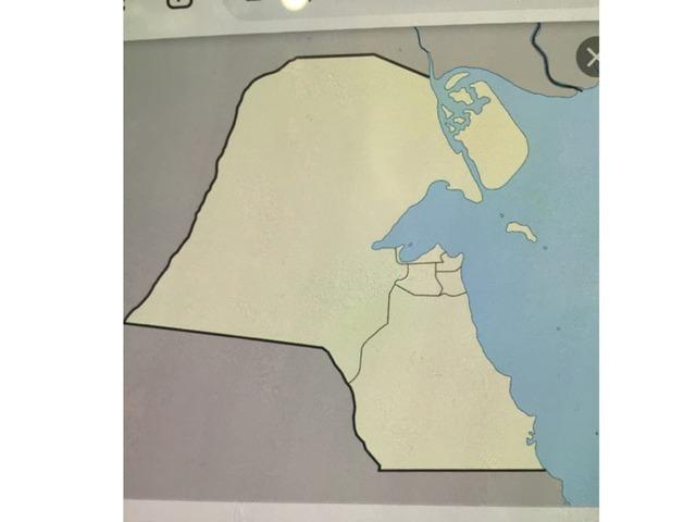 خريطة الكويت by أم يوسف