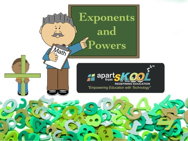 Exponents and Powers by TinyTap creator