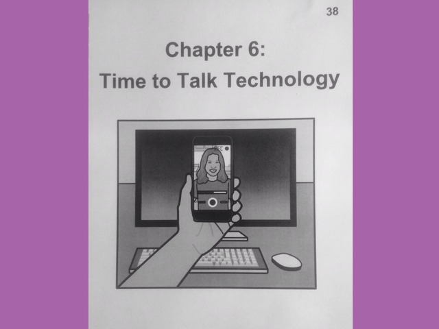 November Lesson 7: Chapter 6 Reading Of Time To Talk Technology  by Tanya Folmsbee