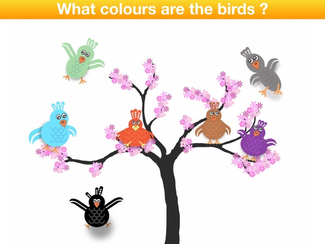 What colour are the birds ? by Teeny Tiny TEFL