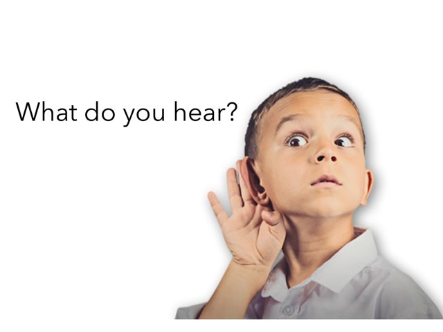 What Do You Hear 2 by Madonna Nilsen
