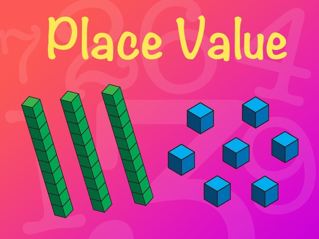 Place Value - MAB blocks 2 by Kaitlin Orr