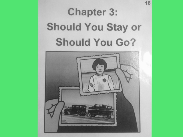 November Lesson 4: Chapter 3 Reading Of Should You Stay Or Should You Go? by Tanya Folmsbee