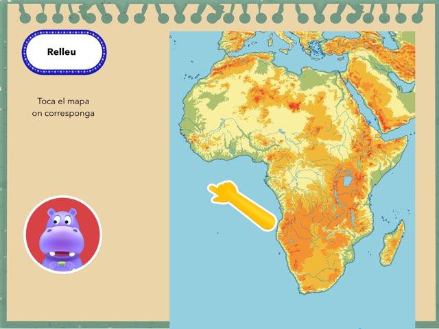 Àfrica Física by Begonya Mira