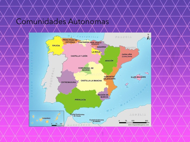 Comunidades Autonomas by Athenea Alcantara Martinez