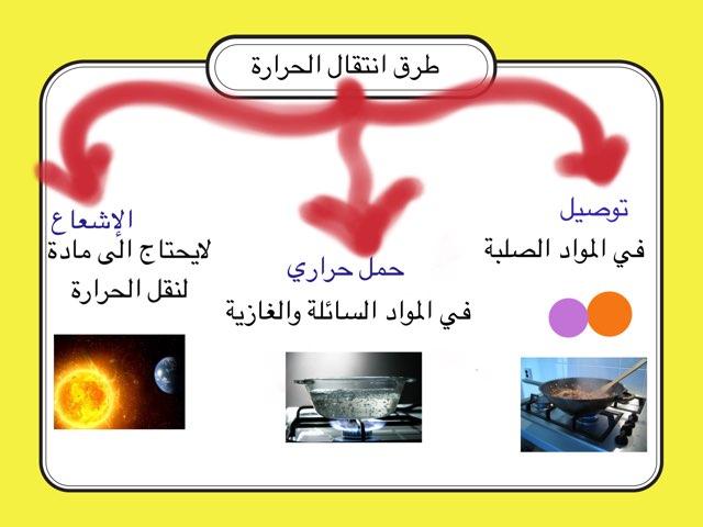 طرق انتقال الحرارة by Shaikha Alghufli