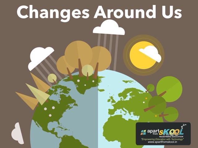 Changes Around Us by TinyTap creator
