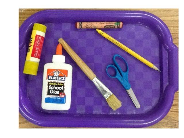 School Supplies by Kristen Daugherty