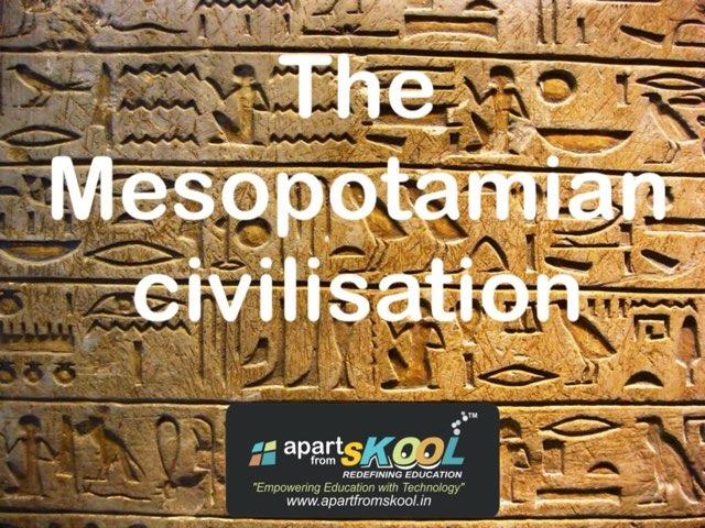 The Mesopotamian Civilisation by TinyTap creator