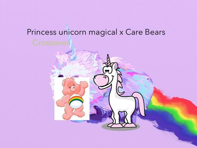 Princess Unicorn Magical X Care Bears by Idah Rahman