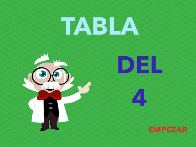 Tabla del 4 by Irene Inma