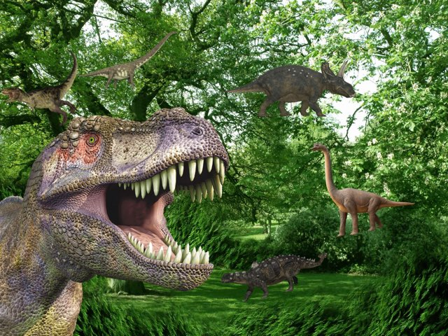 Dinosaurer by Elev Skibet
