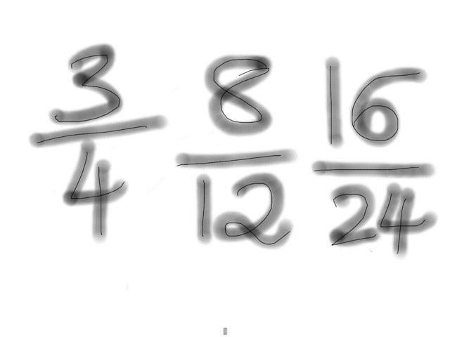 Fractions Quiz by Katie Stuart