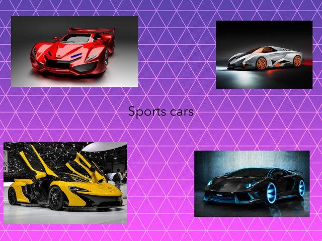 Sports Cars by Frances Chapin