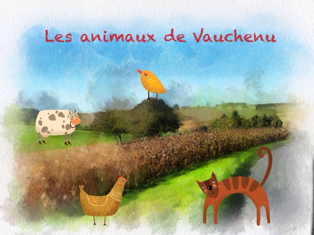 Les Animaux De Vauchenu  by Ni Digicrea
