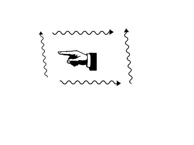 flèche et doit  by Lin