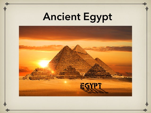 Ancient Egypt 3P by Joe Pereira