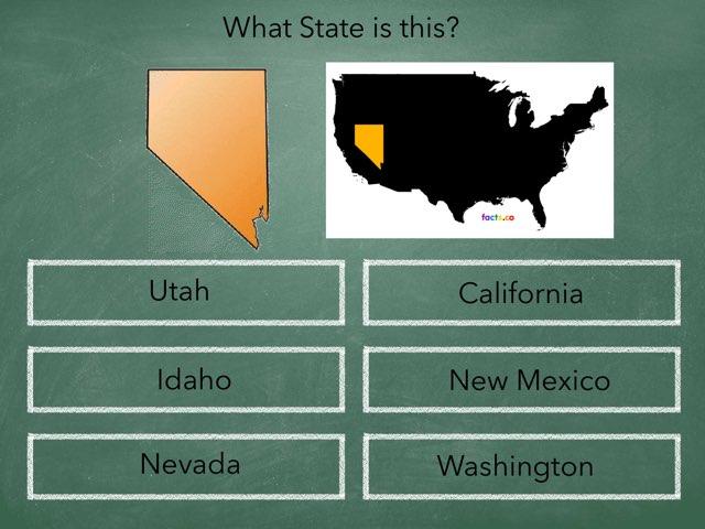 Western States Quiz by Monica Martin