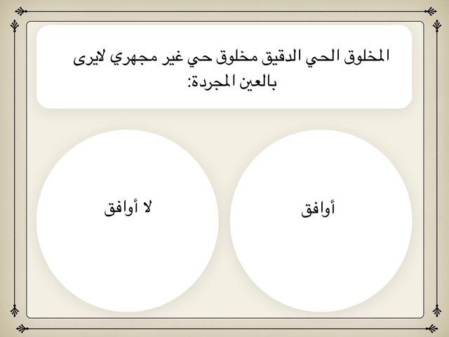 المخلوق الحي by ايمان الجهني