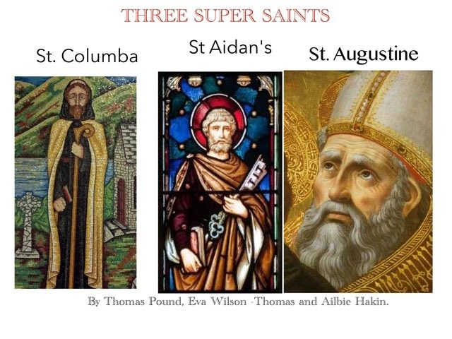 Tap on the picture to reveal the facts about the saints. by RGS Springfield
