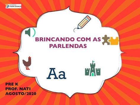BRINCANDO COM AS PARLENDAS  by Natalia Crepaldi Generali
