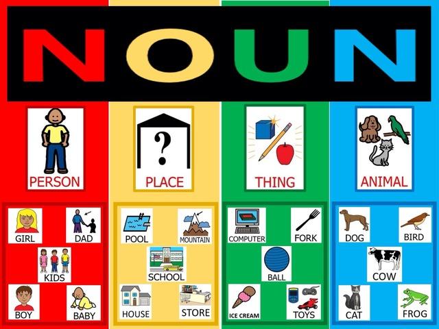 Noun Sounding Board by Sarah Menzies