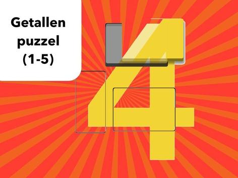 Getallen Puzzel (1-5) by Mr. Puzzlez