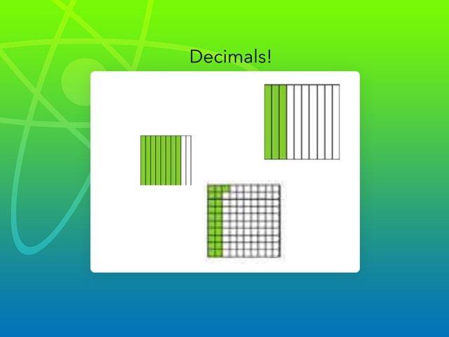 Decimals  by Teresa Van Zant