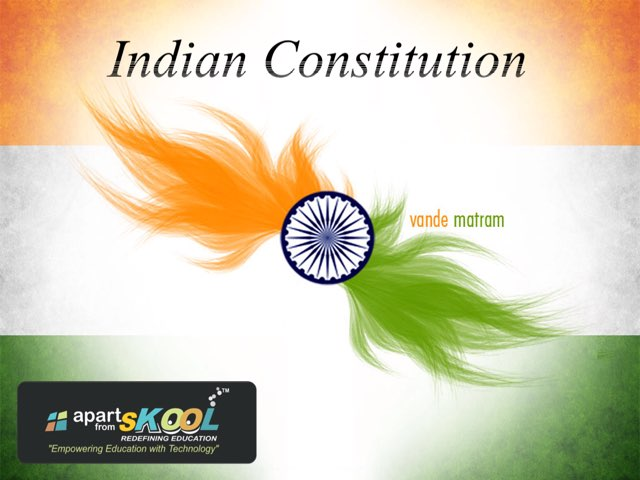 Indian Constitution  by TinyTap creator