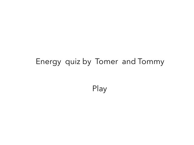 Tomer And Tommy by Year3 Carmel