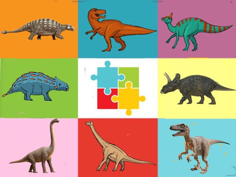 The Dainodinosaur Puzzle  by Liat Bitton-paz