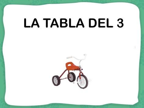 Tabla Del 3. by Jose Sanchez Ureña