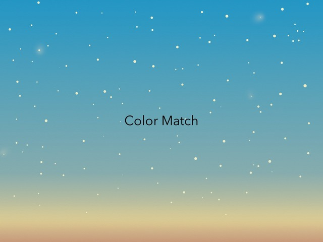 Color Match by Alison Hills
