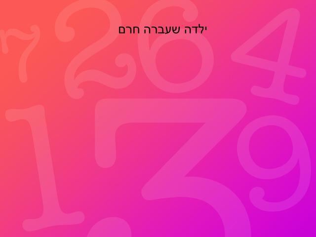 החרם מיה ולפיד by בית ספר קישון