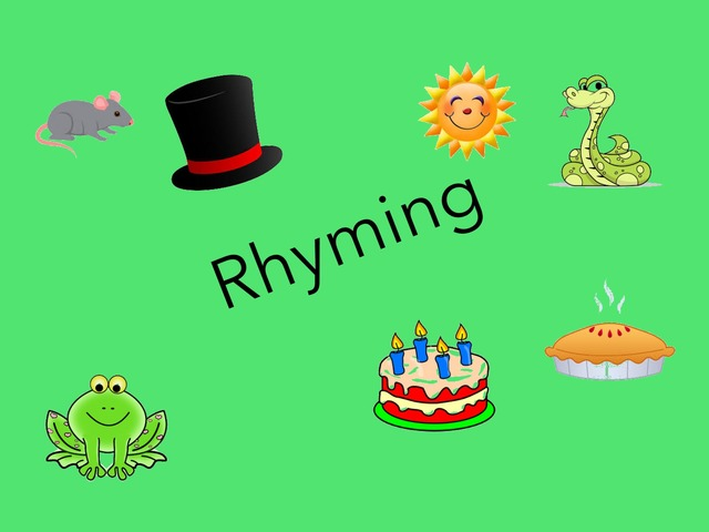 Rhyming by Sonia Landers