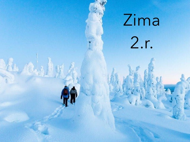 Zima: 2.r. by natasa delac