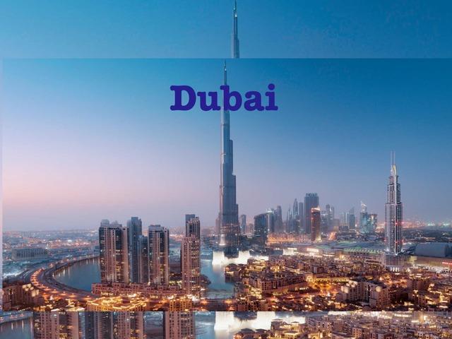 Dubai by Fatimah Hakami