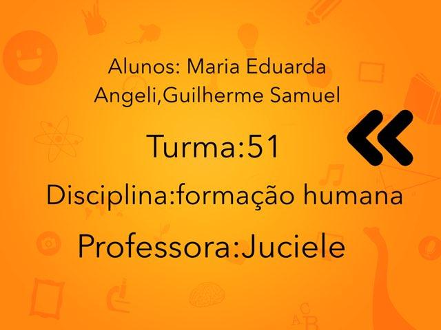 Maria Angeli ,Guilherme  by Rede Caminho do Saber