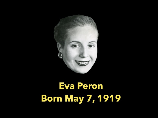 Eva Peron Biography (CVI) by Diana Fitzpatrick