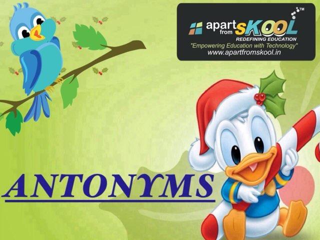 Antonyms by TinyTap creator