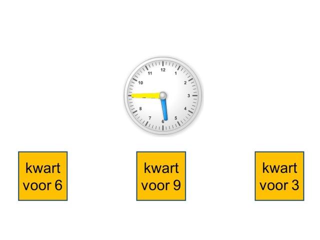 Kloklezen Tot Op Kwartier  by Stefanie Rigolle
