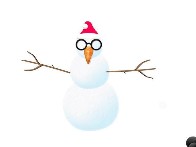 Snowman Body Parts by Ruby McClellan